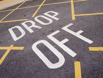 Drop off point Royalty Free Stock Photo