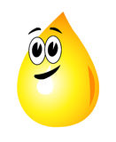 A drop of oil Stock Images