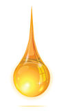 Drop oil isolate for element design Stock Photography