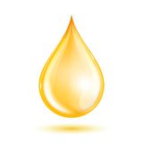 Drop of oil Royalty Free Stock Images