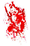Drop red ink Stock Image