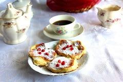 Drop scones stock image