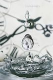 Drop of time Royalty Free Stock Photos