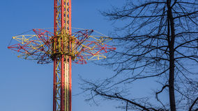 Drop tower Royalty Free Stock Image