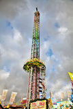 Drop tower fun ride Royalty Free Stock Photography