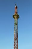 Drop tower ride Stock Photography