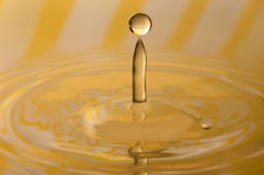 Drop of water. Close up Royalty Free Stock Images