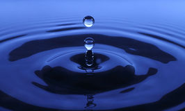 Drop of water. Backround close-up Royalty Free Stock Image