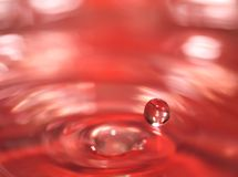 Drop of water Stock Photo