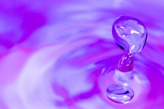 Drop of Water Stock Image