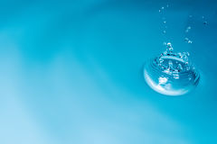 Drop of water background Stock Photos
