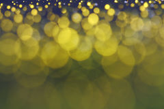 Drop of water bokeh lights gold Royalty Free Stock Photo