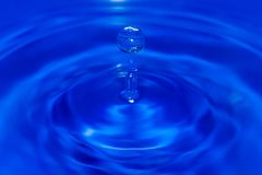 Drop of water Close UP Royalty Free Stock Photography