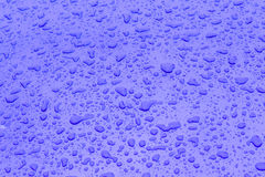 Drop of water gives a harmonic Stock Photography