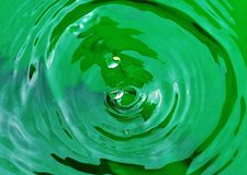 DROP OF WATER 6. Mystery of nature: the drop of water. Close-up photograph of a drop of rain water in all its forms Royalty Free Stock Photo