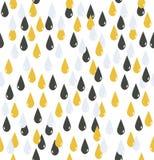 Drop water pattern Royalty Free Stock Image