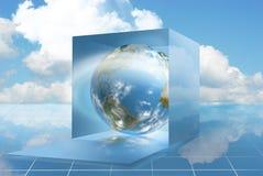 dropbox облака вычисляя Стоковое фото RF