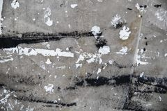 Dropcloth with white and black paint grunge background royalty free stock images