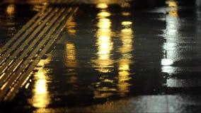 Dropes da chuva no passeio filme