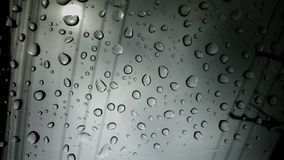 Droplet abstract background. Droplet abstract background . Rain in the city through the mirror vector illustration