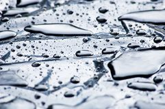 Droplets. Of water Stock Photos