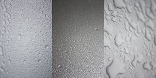 Droplets Collection Royalty Free Stock Photography