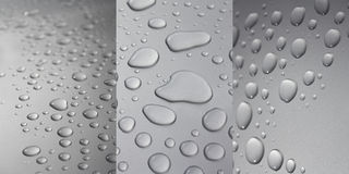 Droplets Collection Royalty Free Stock Photos