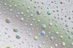 Droplets on screen Stock Photography