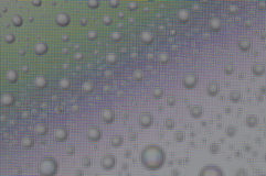 Droplets on screen Stock Photos