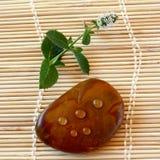 droplets spa πέτρα Στοκ Εικόνες