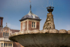 Droplets of water from the fountain at Blickling Hall, Norfolk, England Stock Photography