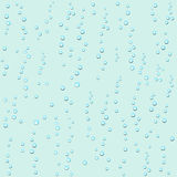 Droplets of water on  light background Stock Image