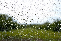Droplets on a window Royalty Free Stock Images