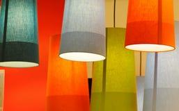 Droplights del color Fotografía de archivo libre de regalías