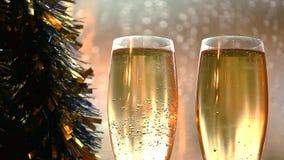 Droppar för regn för glass fönster för Champagne