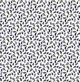 droppar mönsan seamless Sömlösa modelldroppar på vit bakgrund Vektordroppar stock illustrationer