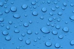 droppar metalized surface vatten Arkivfoto
