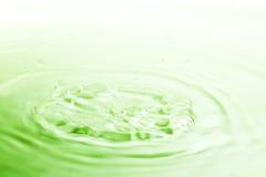 droppbrunnsortvatten Royaltyfri Fotografi