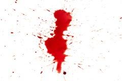 Droppe av blod Royaltyfria Foton