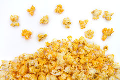 Dropped Cheesy Popcorn Royalty Free Stock Photos