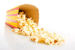 Dropped PopCorn box Stock Image