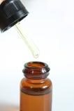 Dropper bottle 3. Dropper bottle on white Stock Photos