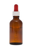 Dropper bottle with clipping path Royalty Free Stock Photos