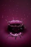 Droppfärgstänk Royaltyfria Bilder