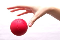 Dropping the Ball Stock Photography