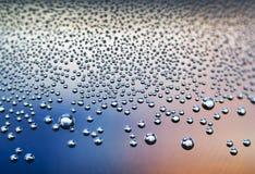 droppvatten Arkivfoto