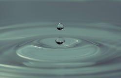 droppvatten Fotografering för Bildbyråer