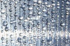 droppvattenfönster Arkivbild