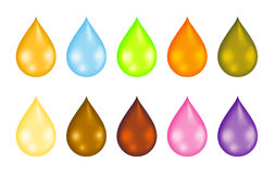 Drops Royalty Free Stock Photo