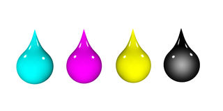 Drops Royalty Free Stock Photography